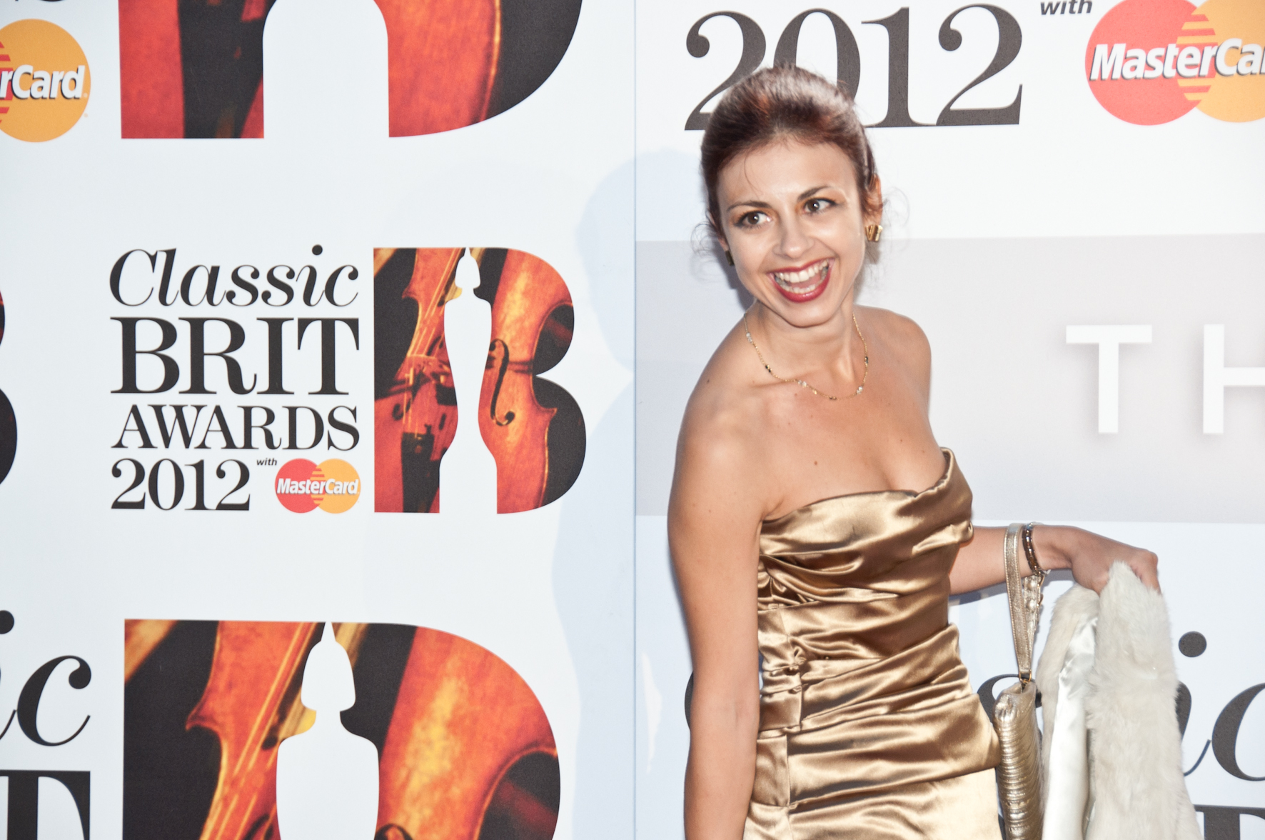 S.Passamonte at the Classic BRIT Awards
